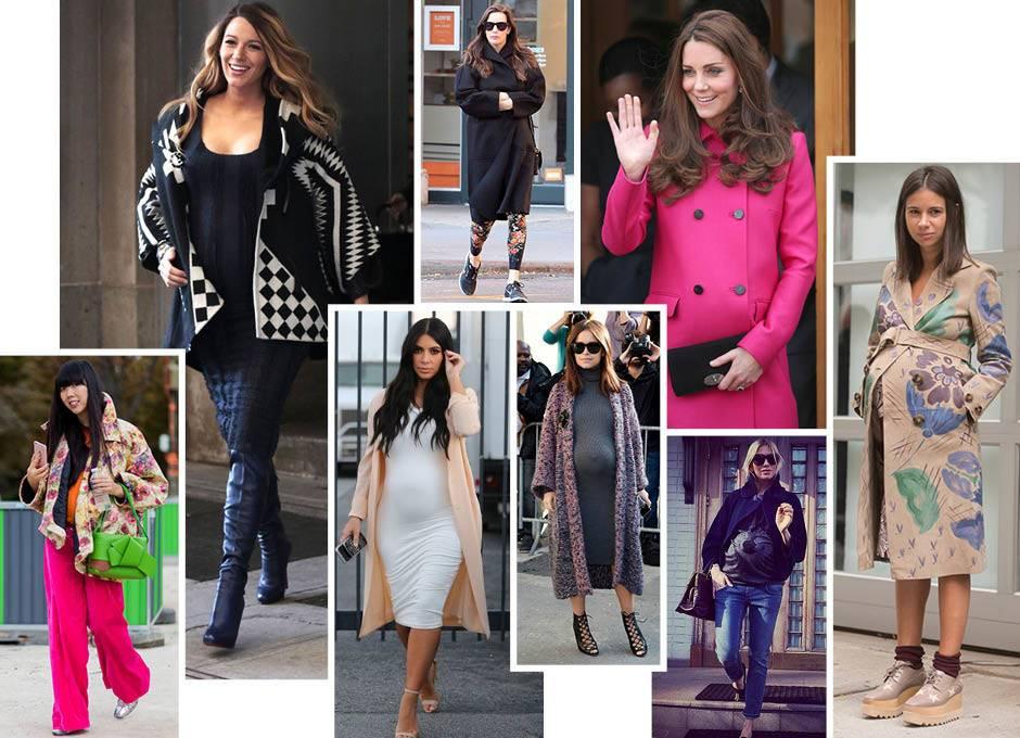Стильная беременность: главные модные правила