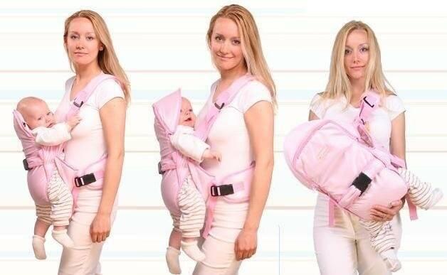 Выбираем кенгуру — переноску для новорожденного