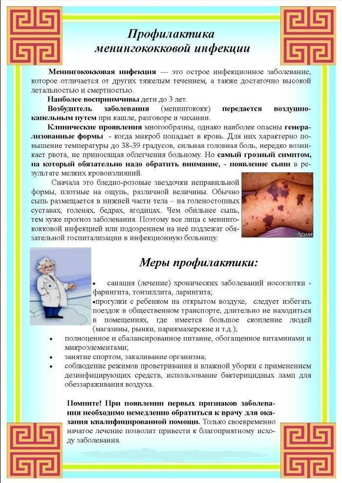 Сыпь при менингите: в чем её особенность и каковы общие характеристики
