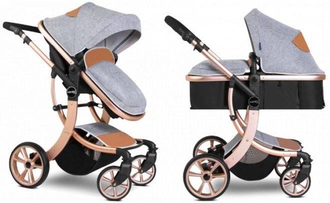 Детские коляски-трансформеры: обзоры на самые компактные и легкие варианты - hellobuggy