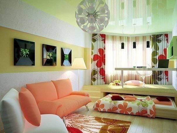 Планировка гостиной комнаты — варианты зонирования и особенности формирования единого стиля (90 фото и видео)