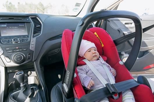 Правила перевозки детей в машине с 2017 года