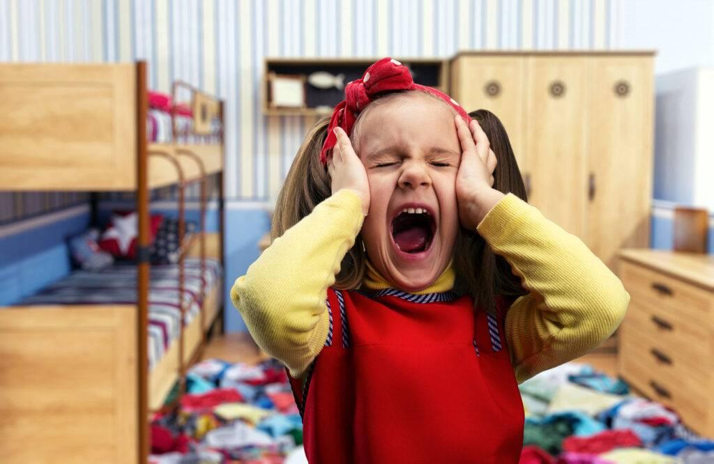 Ребенок капризничает?