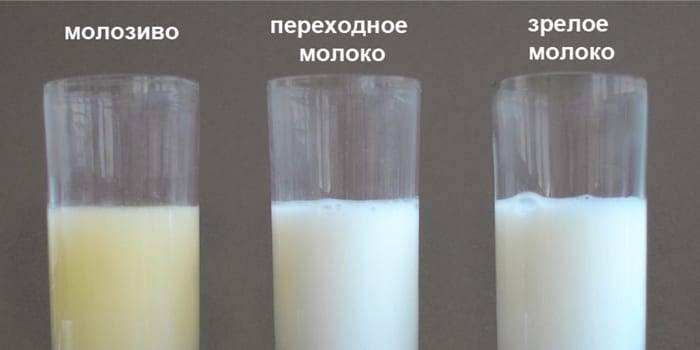 Желтый цвет молока при грудном вскармливании