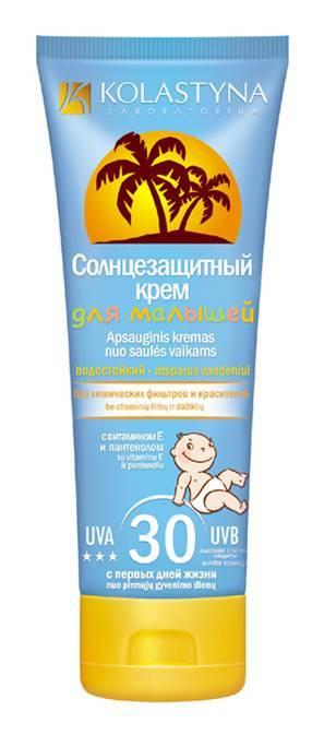 Топ-10 лучших солнцезащитных кремов для детей в рейтинге zuzako