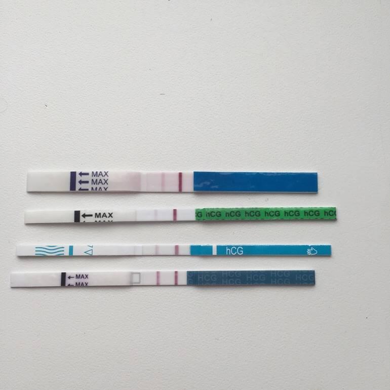 Слабая вторая полоска на тесте: наступила ли беременность?