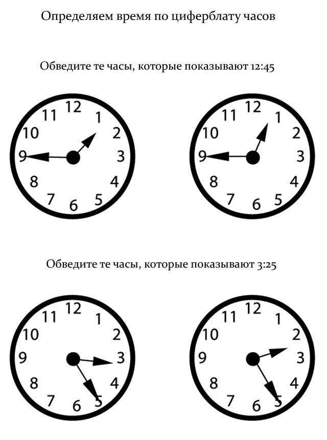 Как научить ребенка часам – быстро и легко объясняем как определять время и пользоваться часами