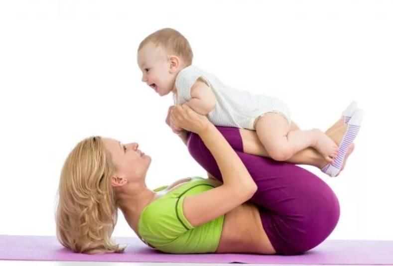 Как похудеть при грудном вскармливании (гв): диета для кормящих мам, упражнения после родов