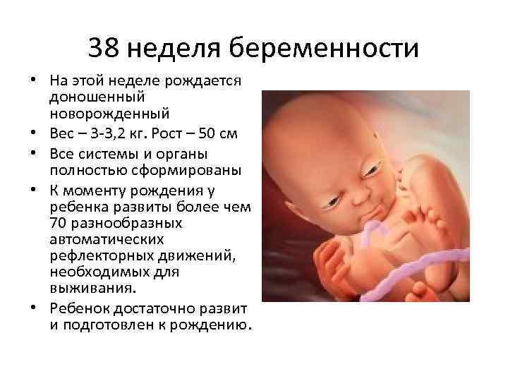 Во сколько недель положено рожать при первой и второй беременностях