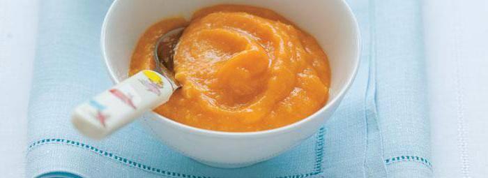 Пюре из тыквы для грудничка: рецепт приготовления