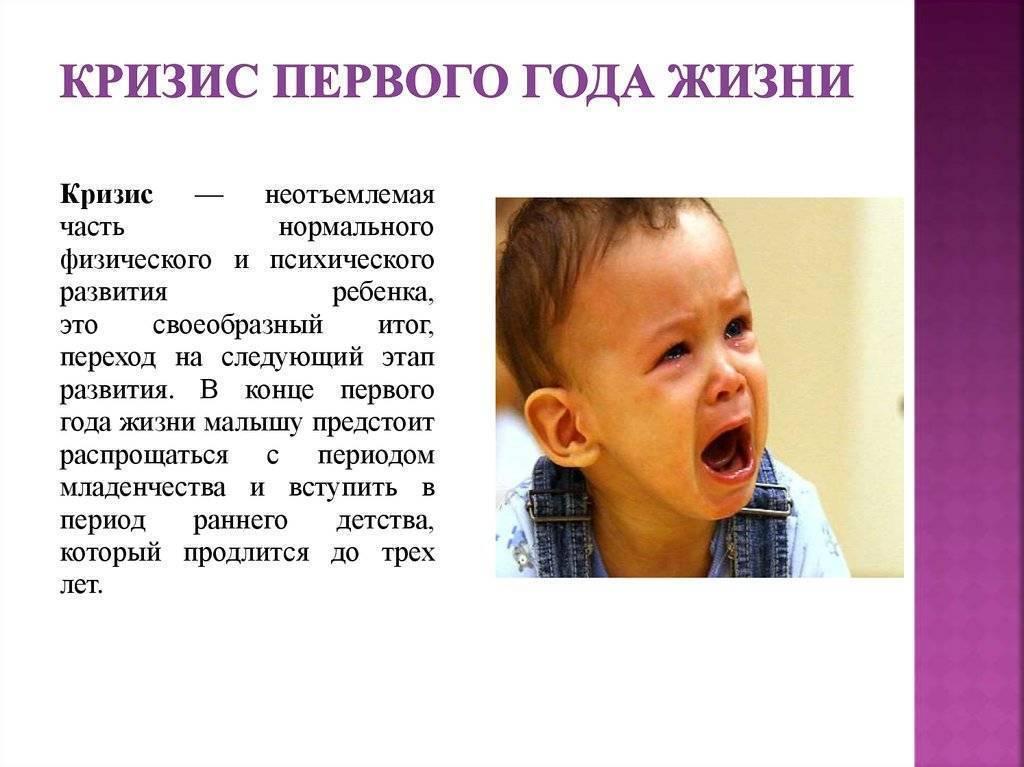 Кризис 1 года у ребенка – признаки кризиса первого года жизни и как он проявляется – agulife.ru - agulife.ru