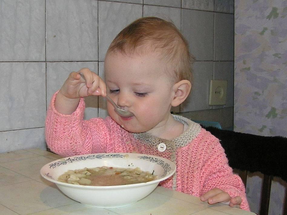 Что делать, если ребёнок не ест суп? - для мам