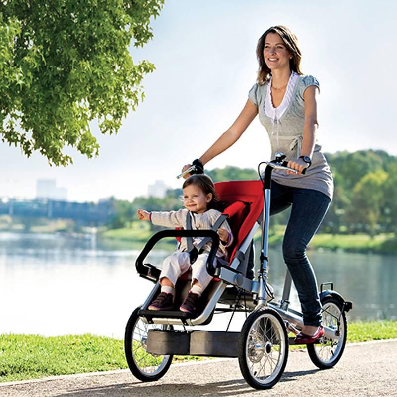 Как выбрать велосипед-коляску?