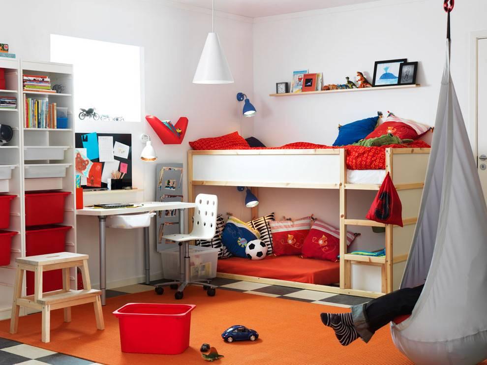 Детская комната икеа — масса эффективных советов по дизайна + 165 фото