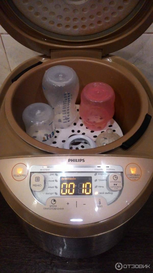 Как производится стерилизация детских бутылочек в пароварке - kakdoma154.ru
