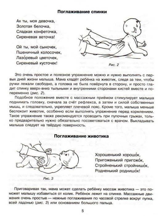 Гимнастика для новорожденных с первых дней жизни: зарядка грудничков с 1 по 10 месяц