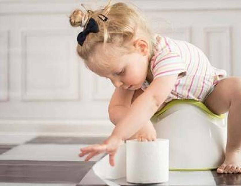 Деликатный вопрос. с какого возраста приучать ребенка самостоятельно вытирать себе попу?