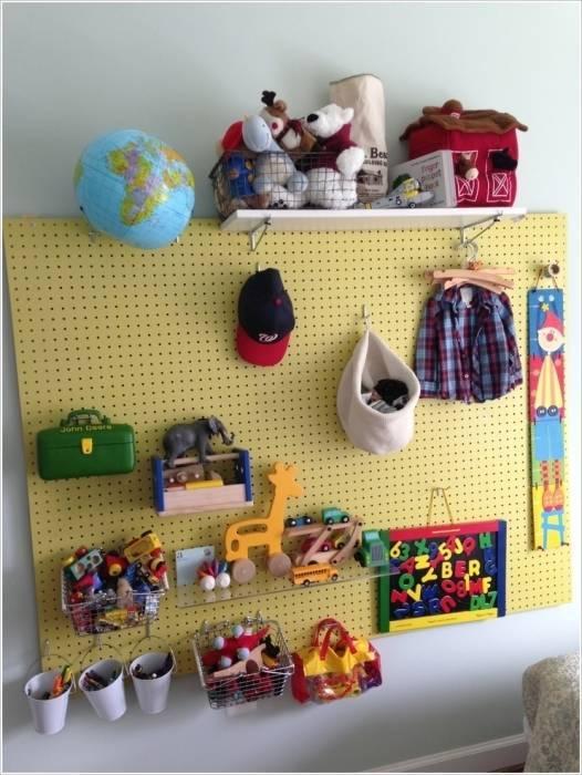 Особенности хранения детских игрушек