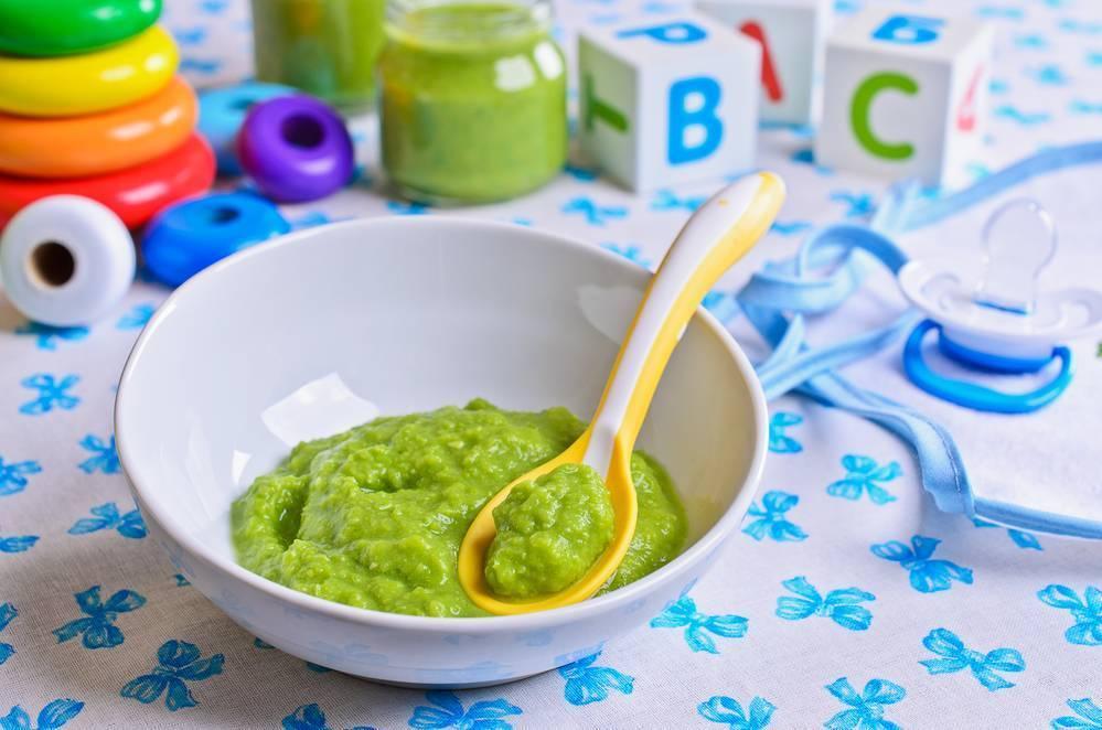 Пюре из брокколи для грудничка: рецепт, как приготовить для первого прикорма