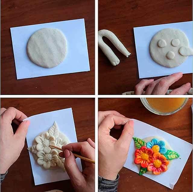 Лепка из соленого теста для детей: пошаговая инструкция для начинающих, интересные идеи