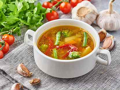 Суп с курицей для ребенка: простые рецепты