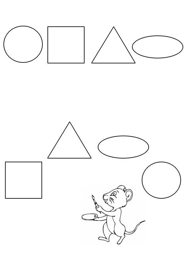 Конспект индивидуального занятия «геометрические фигуры» для детей 5–7 лет. воспитателям детских садов, школьным учителям и педагогам - маам.ру