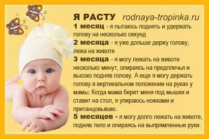 Когда новорожденный должен начать сам держать головку - новорожденный. ребенок до года