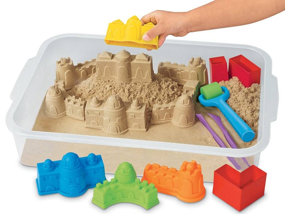 Кинетический песок для детей