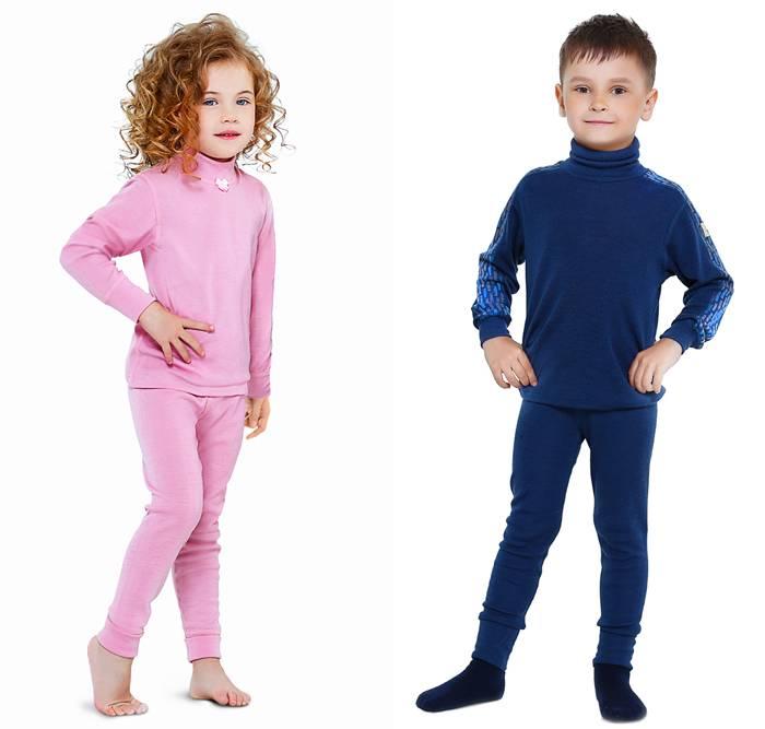 Термобелье для детей: выбираем детские термоколготки для холодной погоды и другие вещи. как правильно носить зимой коплекты из шерсти?