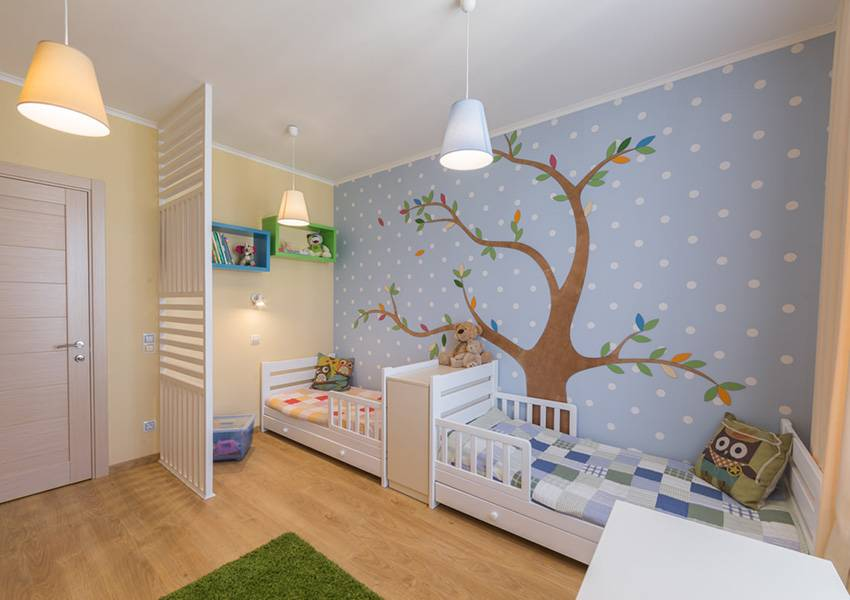 Планировка детской комнаты: 15 интересных дизайн проектов детской комнаты
