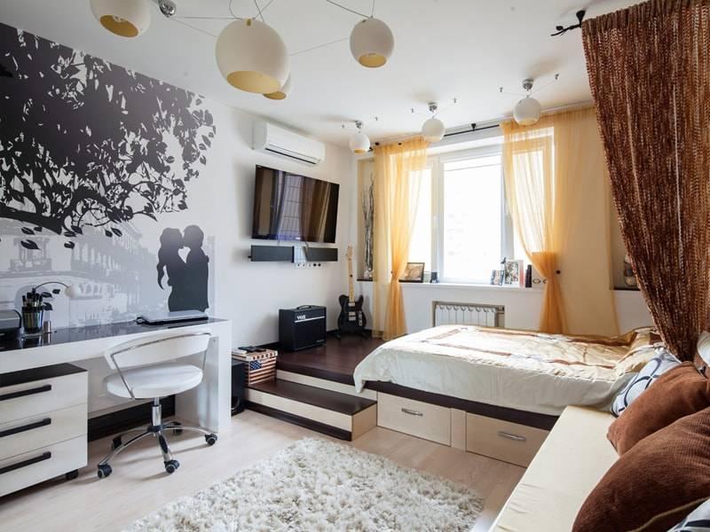 Дизайн комнаты в различных модных стилях