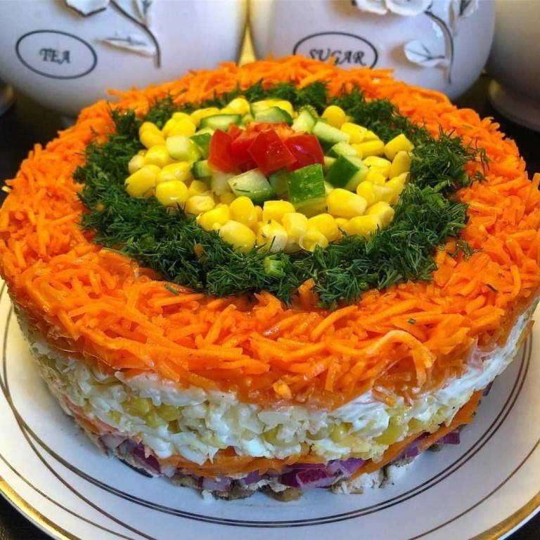 Салаты на день рождения ребенка. меню салатов. фото