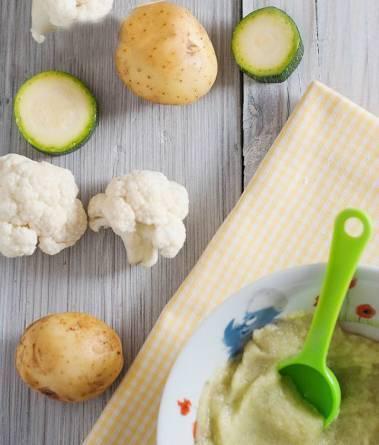 Пюре из цветной и белокочанной капусты для прикорма грудничка: рецепты, способы приготовления и заморозки овощей. тонкости первого прикорма цветной капустой цветная капуста как первый прикорм