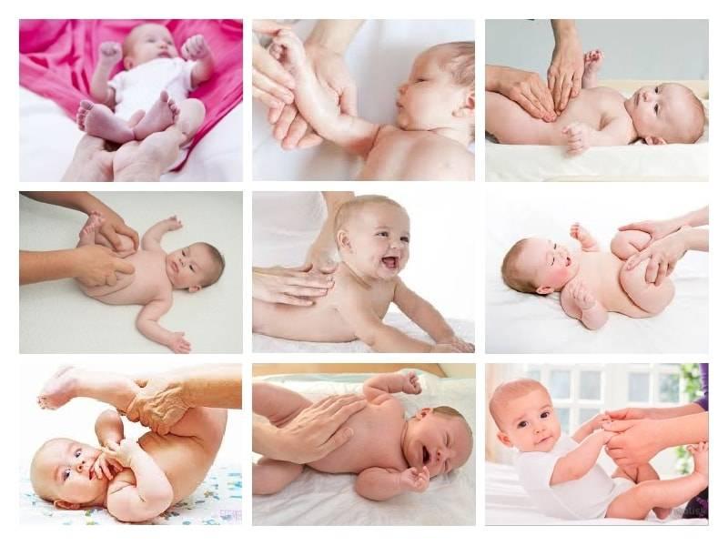 Массаж для новорожденных: как делать, видео, в домашних условиях