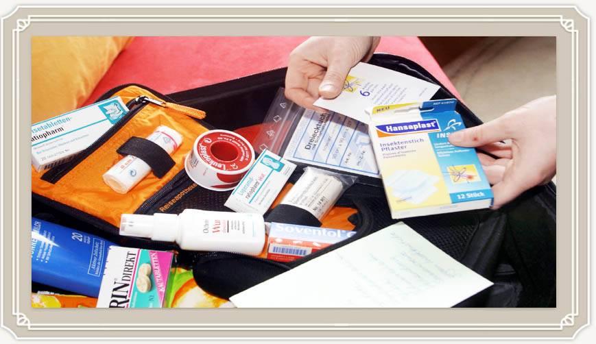 Аптечка туриста: список лекарств в дорогу