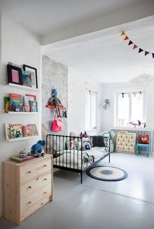 Скандинавский стиль для детской комнаты мальчику или девочке