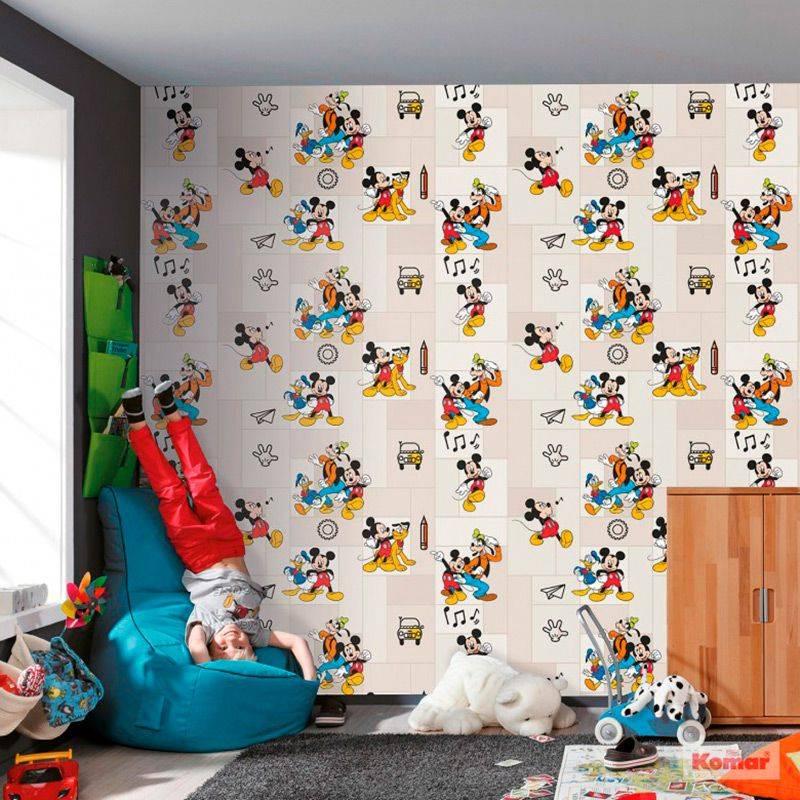 Какие выбрать обои для детской комнаты? 100 новых идей