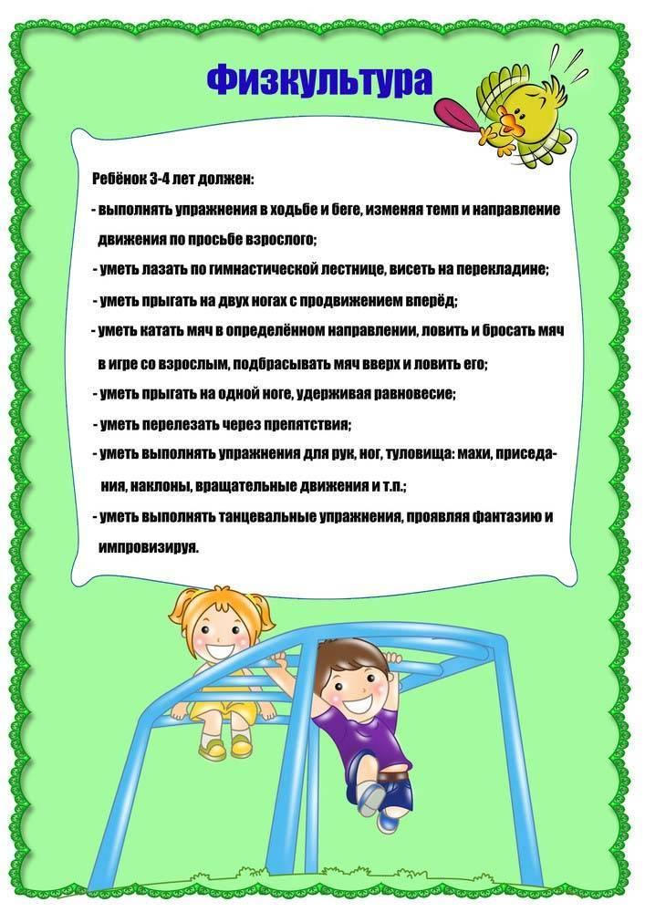 Что должен уметь и знать ребенок в 4 года: навыки, мышление и развитие