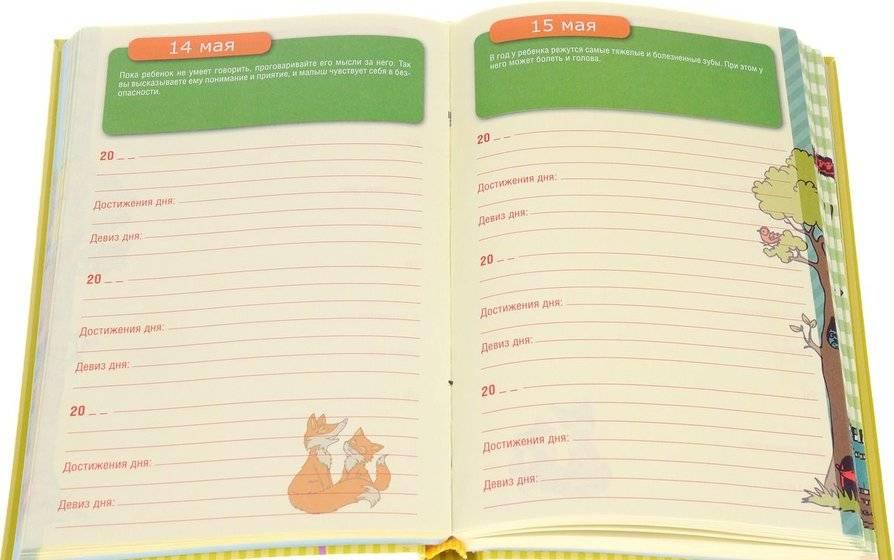 Дневник развития ребенка. развитие ребенка от 1 года до 3 лет