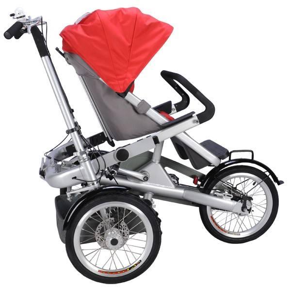 Велосипед коляска: для ребенка - детская модель, для мамы - взрослая (фото)   покупки   vpolozhenii.com
