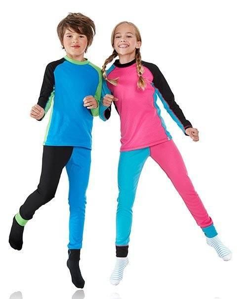 Детское термобелье – виды, какое термобелье лучше для ребенка?