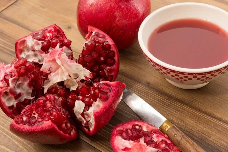 Можно ли гранат при грудном вскармливании, разрешен ли гранатовый сок кормящим в первый месяц и при длительном гв