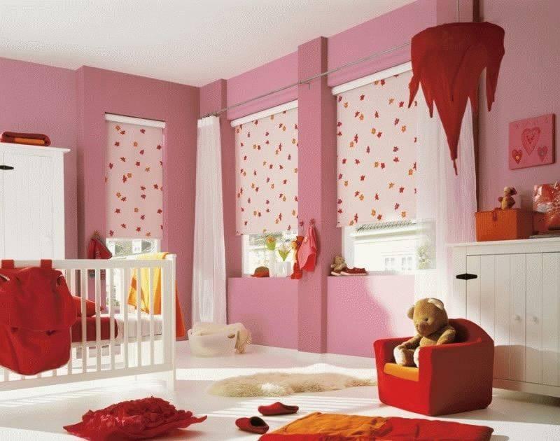 Как выбрать шторы и тюль в детскую комнату: актуальные ткани, цветовая гамма для мальчика и девочки