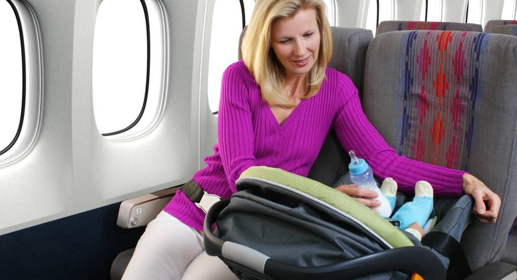 Как летать на самолёте с грудным ребенком? рекомендации и советы.
