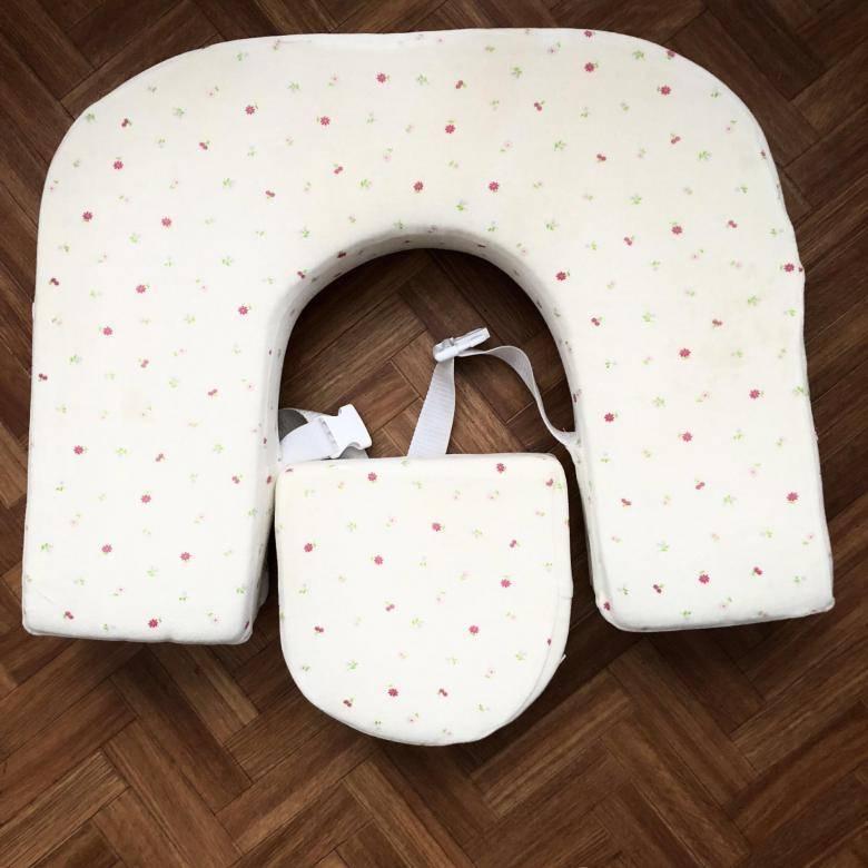 Подушка для кормления одного ребенка и двойни: советы по выбору и фото