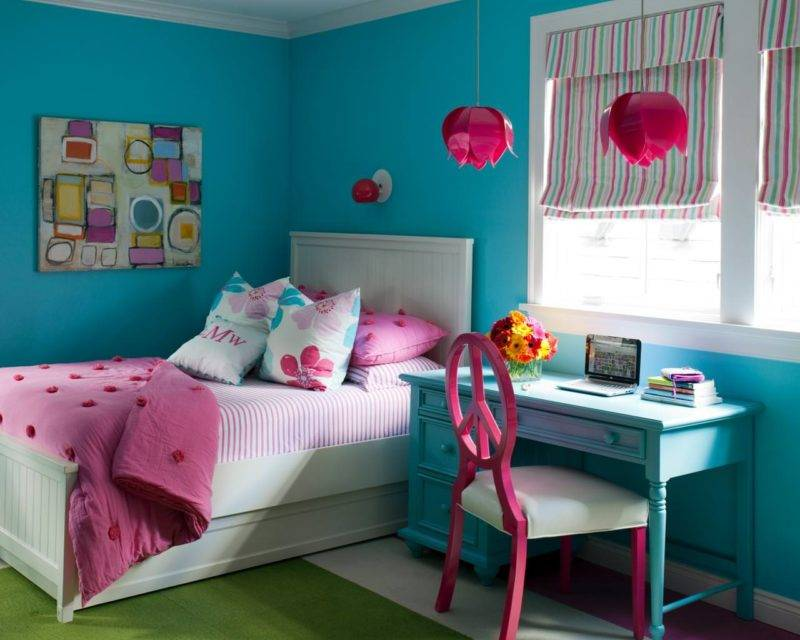 Как покрасить детскую: 70 фото, 7 советов по выбору цвета и типа краски, 5 идей декора