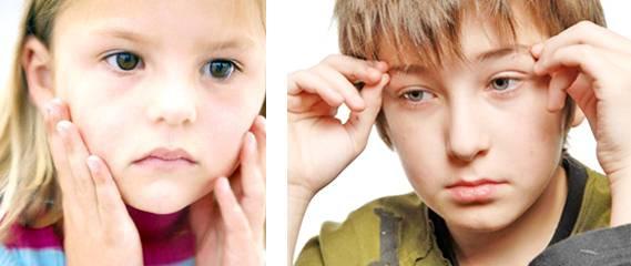 Нервный тик у ребенка моргание глазами: причины и лечение