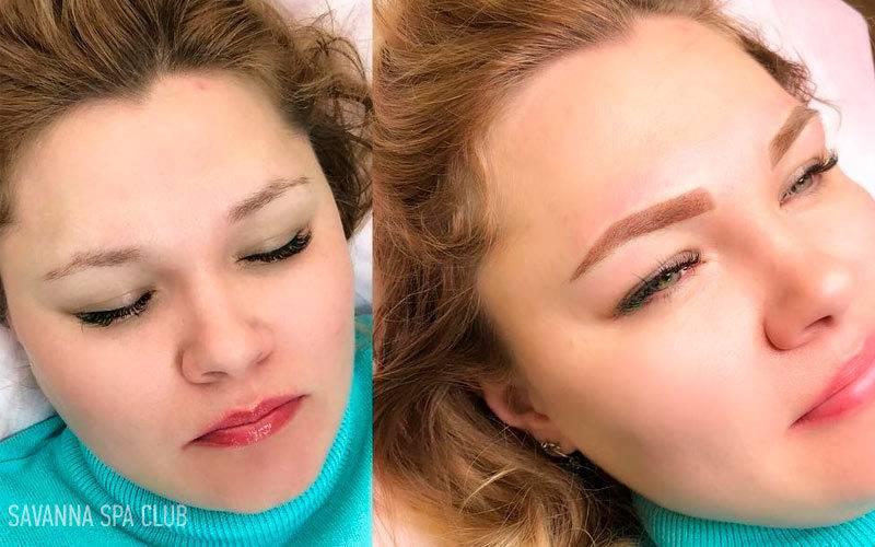 Окрашивание бровей хной: сколько держится и как часто можно красить в салоне, оформление в домашних условиях, на сколько хватает - отзывы