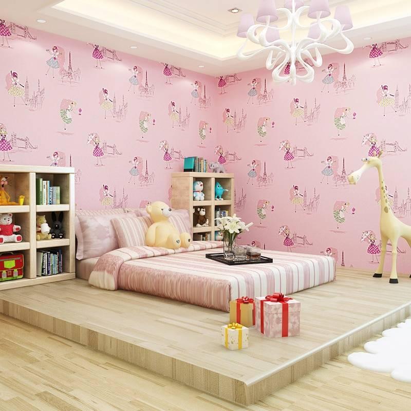 Какие обои лучше выбрать в комнату для девочки-подростка?