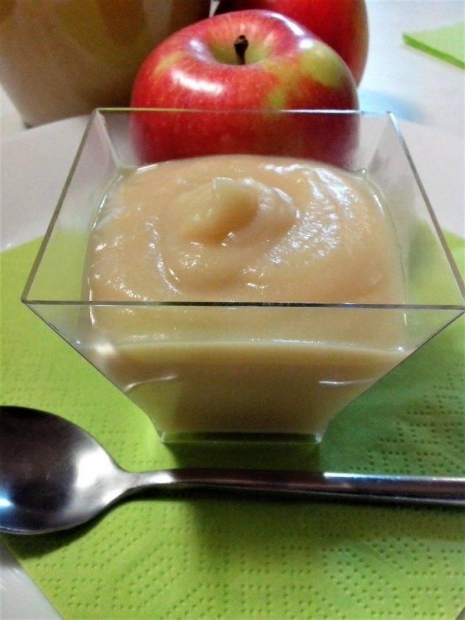Как сделать яблочное пюре для грудничка в домашних условиях своими руками